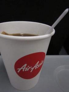Чаек на борту AirAsia платный