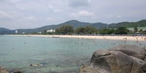 Вид на пляж Карон