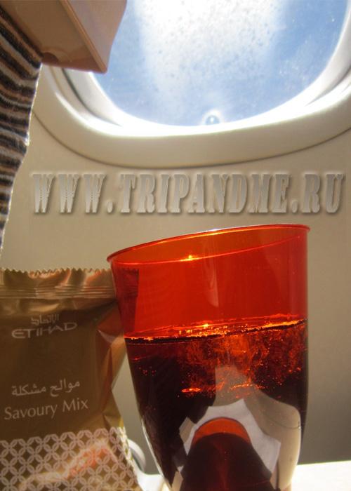 Этихад сервис в самолете