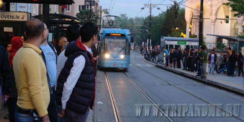 Стамбульская трамвайка