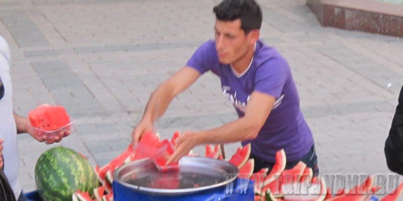 Арбуз в Стамбуле