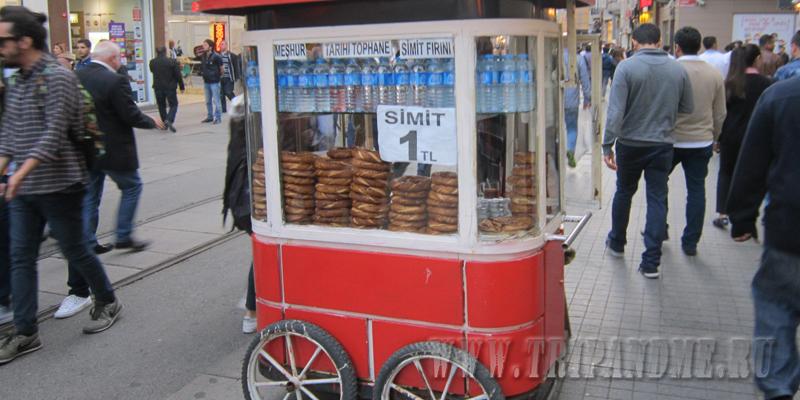 Симиты в Стамбуле