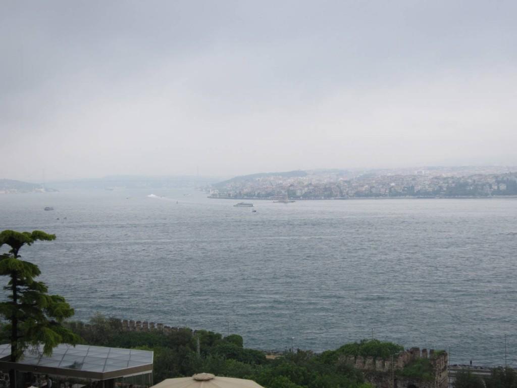 Вид на Босфорский пролив