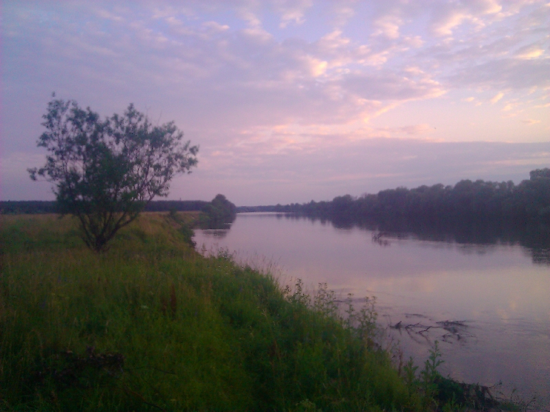 река Клязьма во Владимирской области