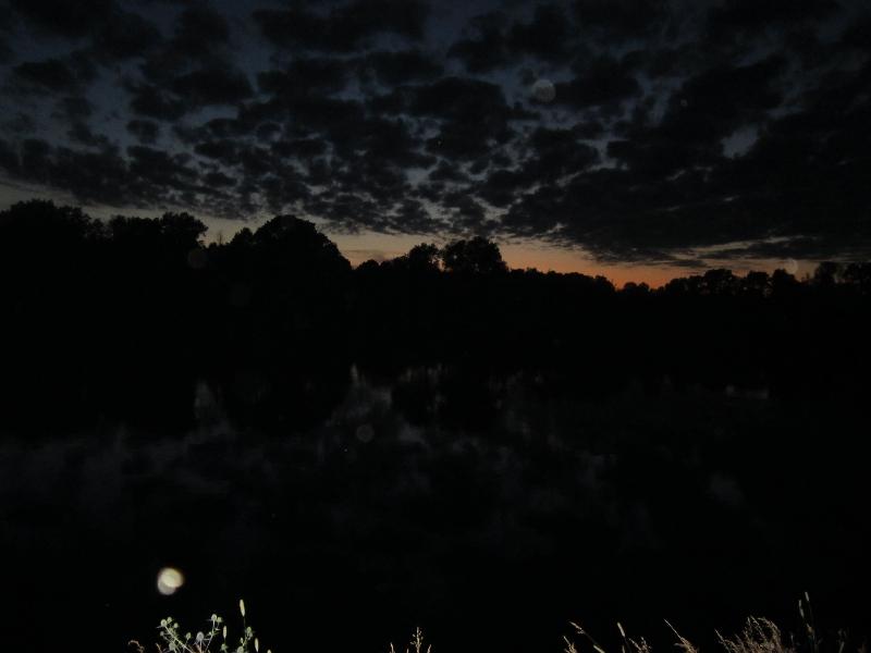 Необыкновенное почти ночное небо