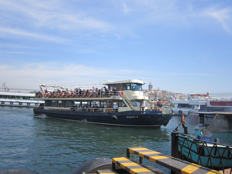 морской автобус в Стамбуле