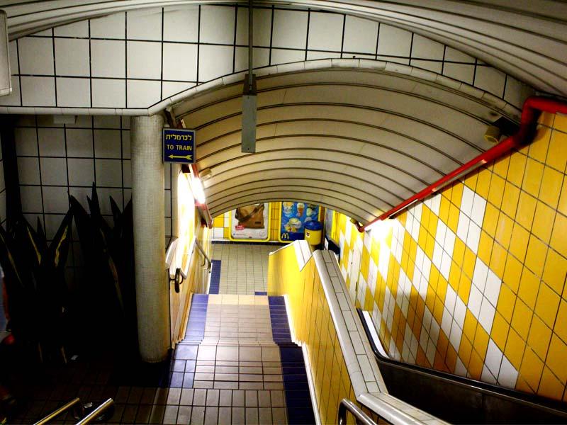 Metro-Haifa-lestnica