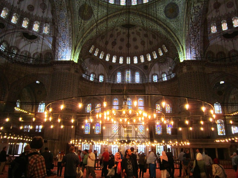 окна Голубой мечети
