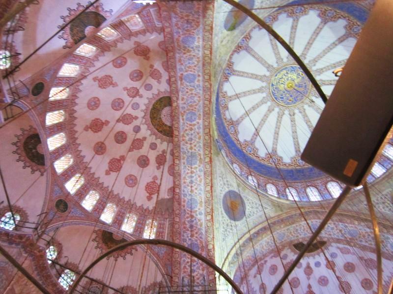 Купол и полукупол Голубой мечети
