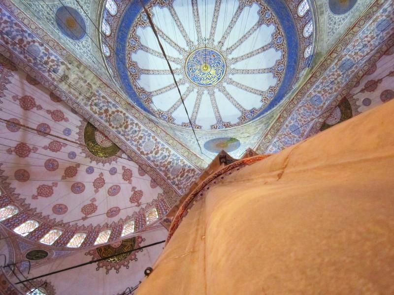 Колонна Голубой мечети