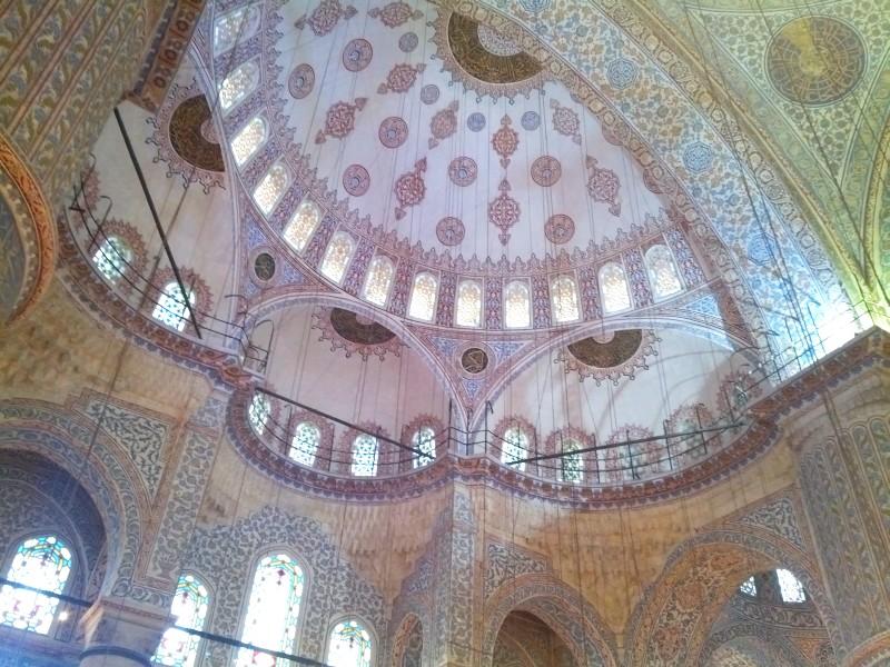 Полукупол Голубой мечети