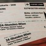 Как сэкономить на проезде в Вене – покупаем суточный проездной