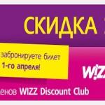 Весенняя распродажа WizzAir – авиабилеты в Будапешт от 1 100 рублей