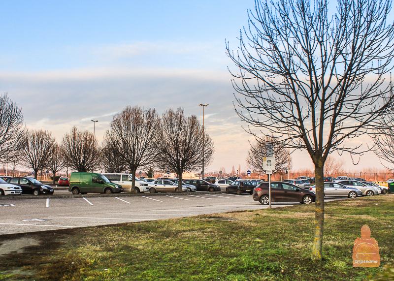 Парковка в аэропорту Дебрецена