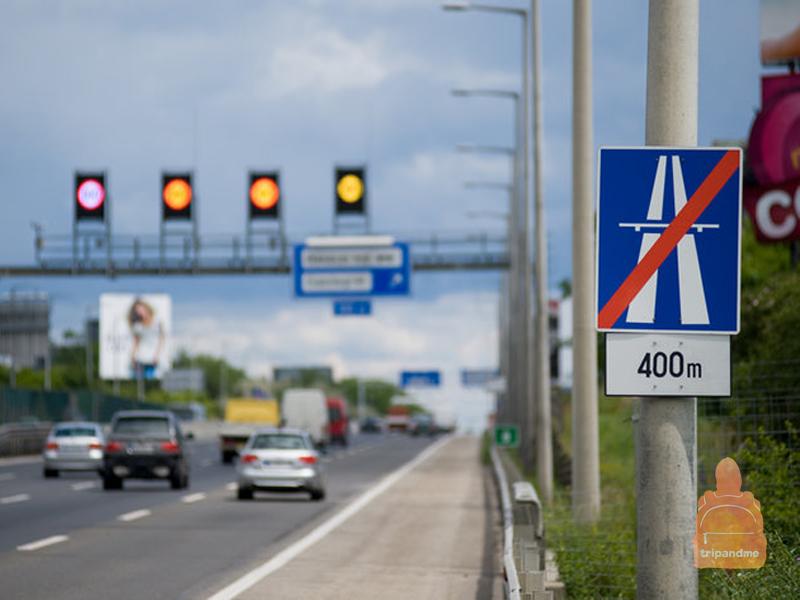 Трасса из Дебрецена в Будапешт