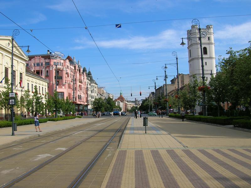 Проездная часть города Дебрецен