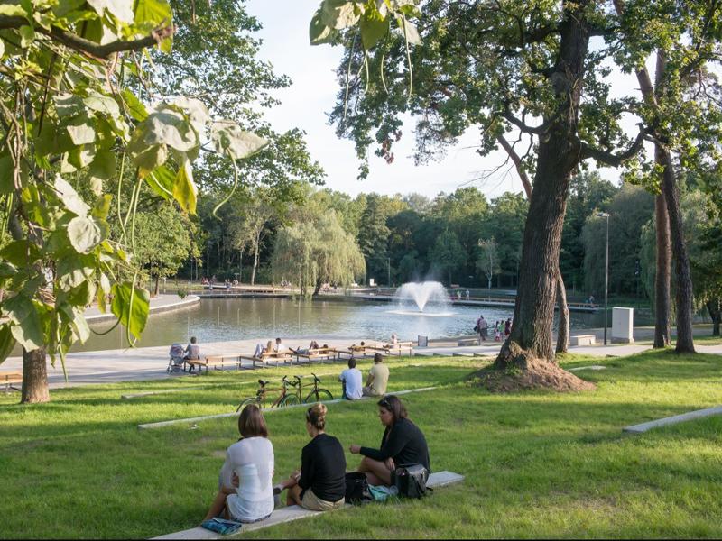 Самый красивый парк в Дебрецене