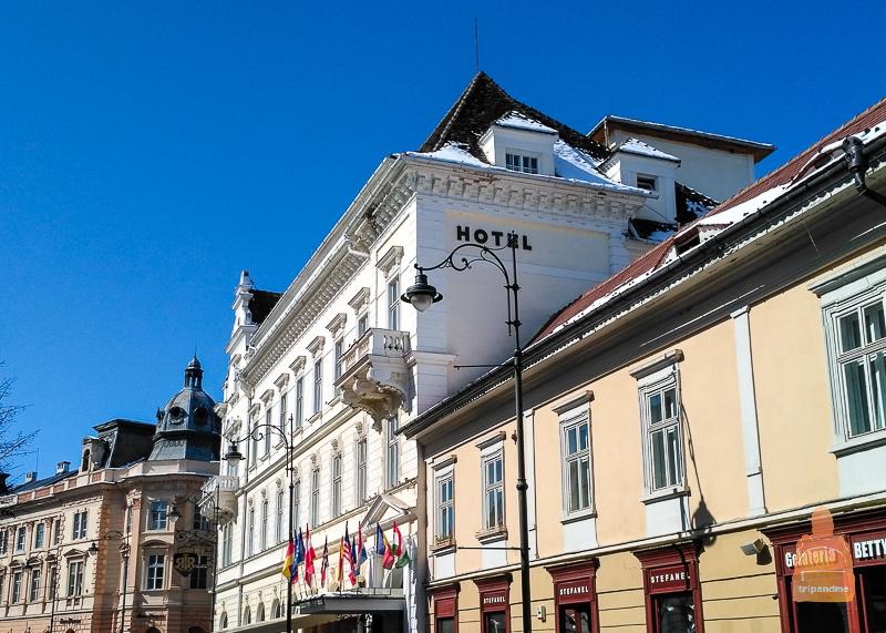 Отель в Сибиу