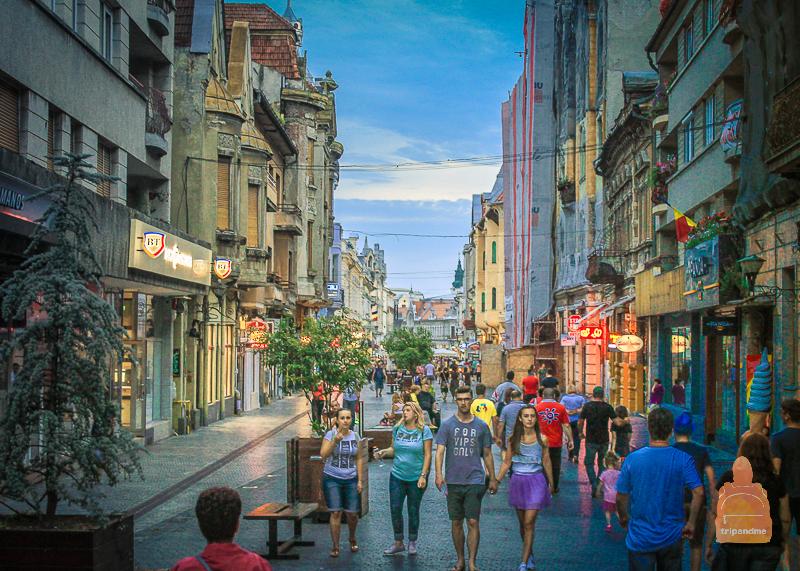 Красивые и обычные места в Трансильвании