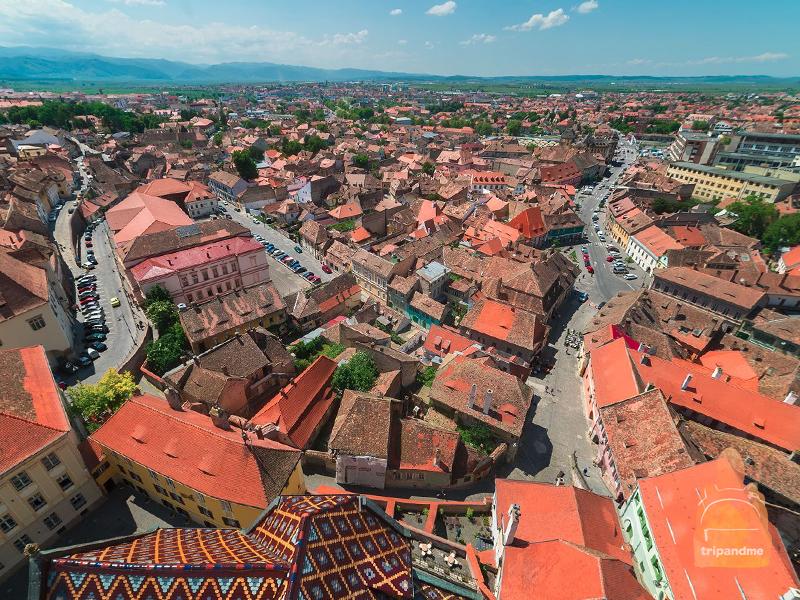 Центральный город Румынии - Сибиу