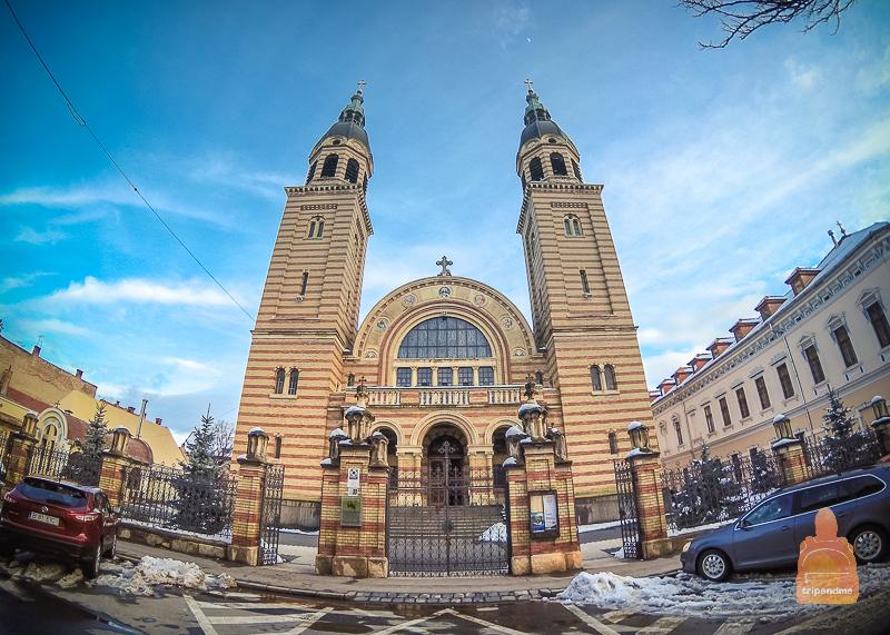 Достопримечательности центрального города Румынии