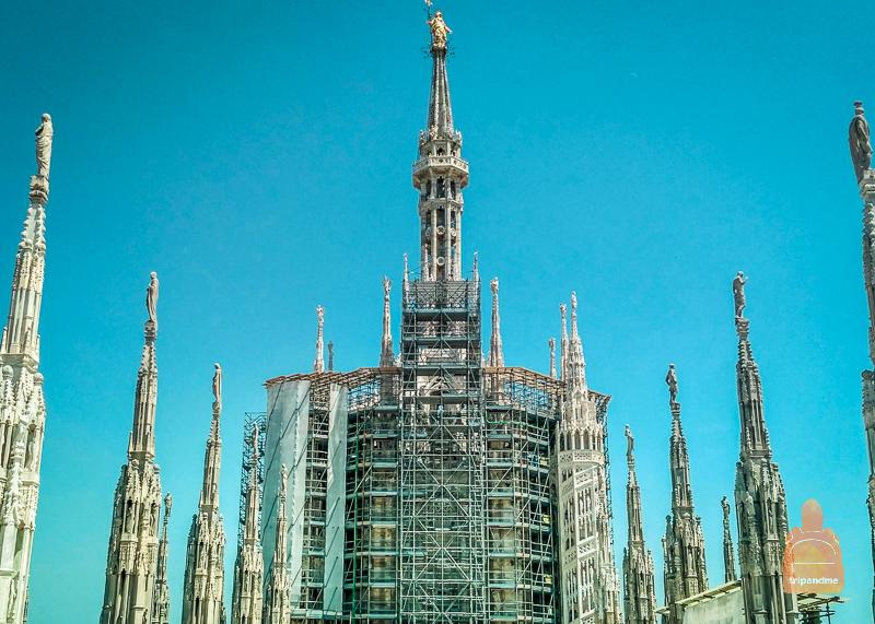 Собор Дуомо в Италии и его особенность в отличии от других соборов