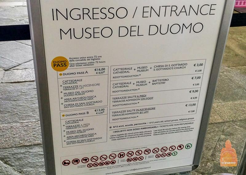 Сколько стоит побывать в жемчужине Милана