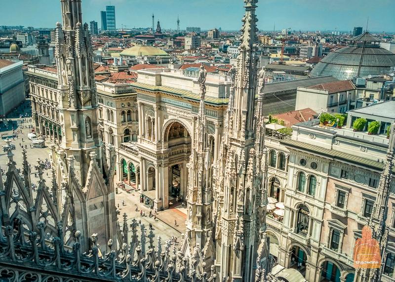 Главный символ Милана - собор Дуомо