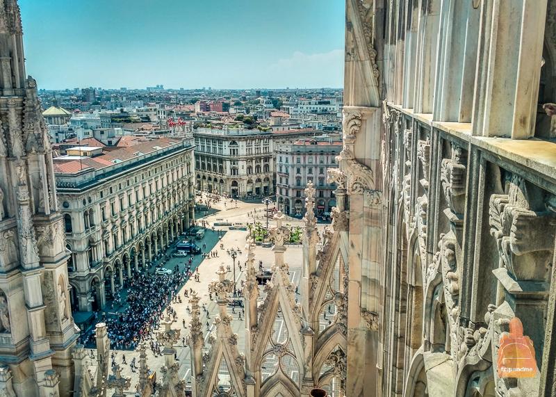 Вид с окон собора Дуомо