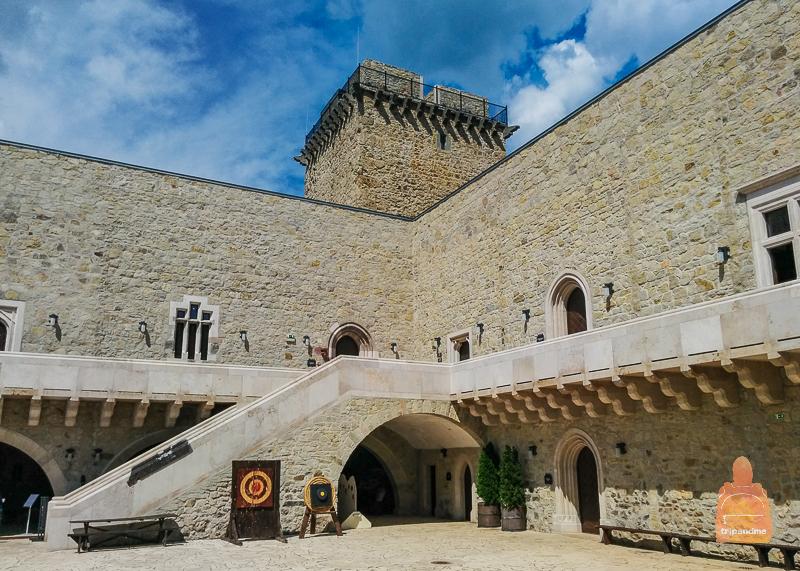 Внутренний замок крепости