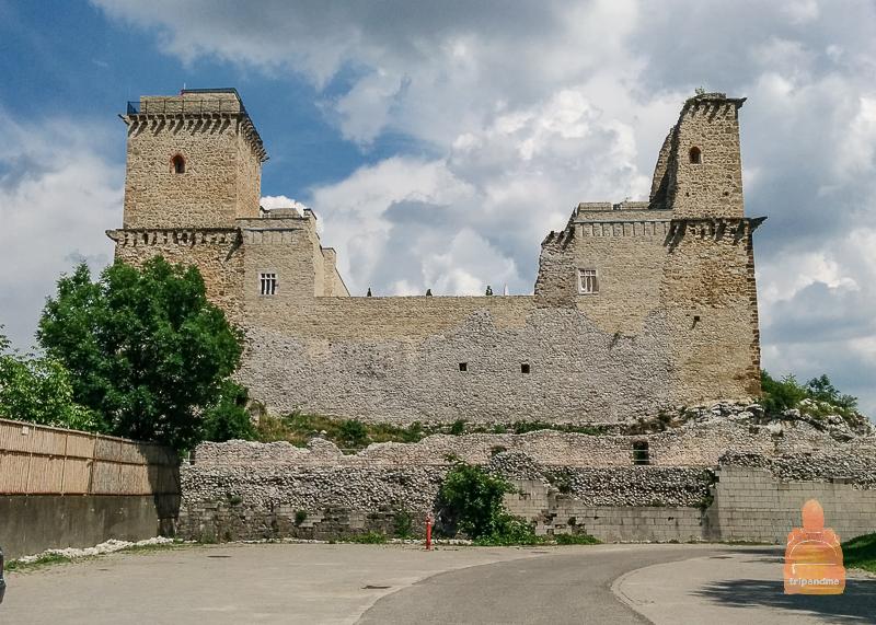 Средневековая крепость Диошдьер в Мишкольце