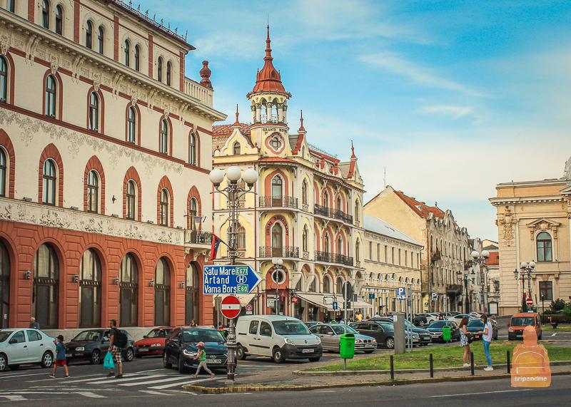 Исторические здания в Ораде