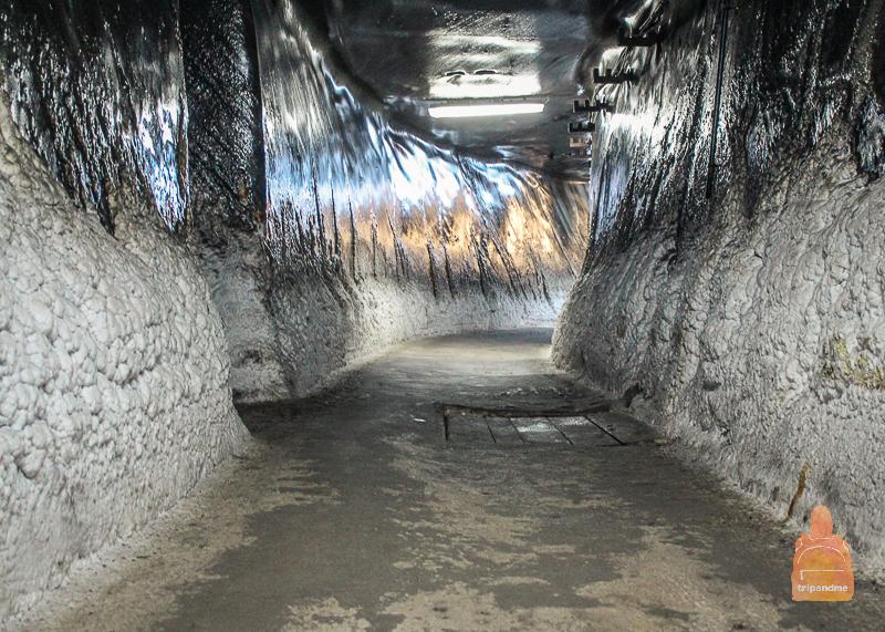 Тоннели соляной шахты