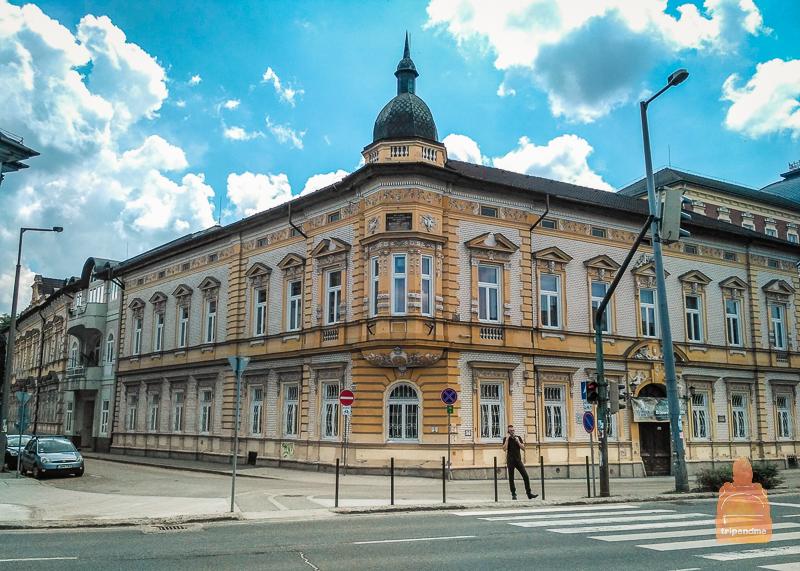 Старинные здания в Мишкольце