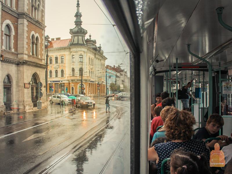 Общественный транспорт в Клуже
