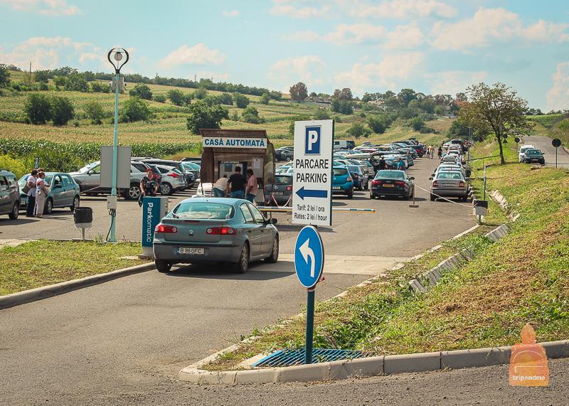Платная парковка у шахты