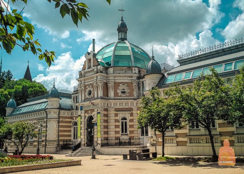 Красивое здание в Мишкольце