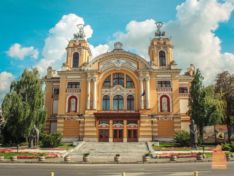 Здание оперы в Клуж-Напоке
