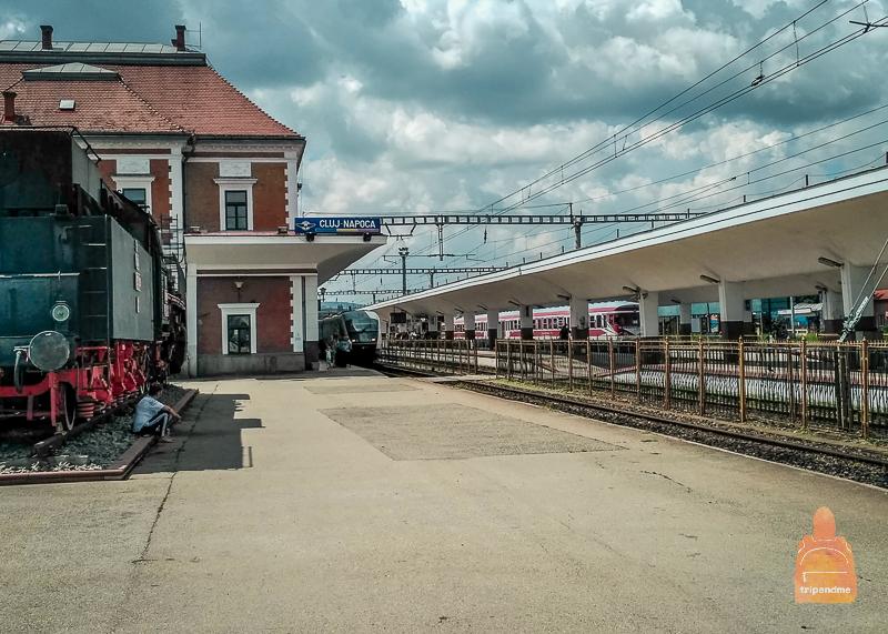 Железнодорожный вокзал в Клуже