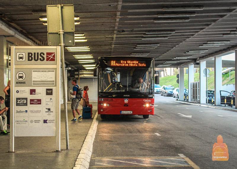 Экспресс-автобус из аэропорта Белграда