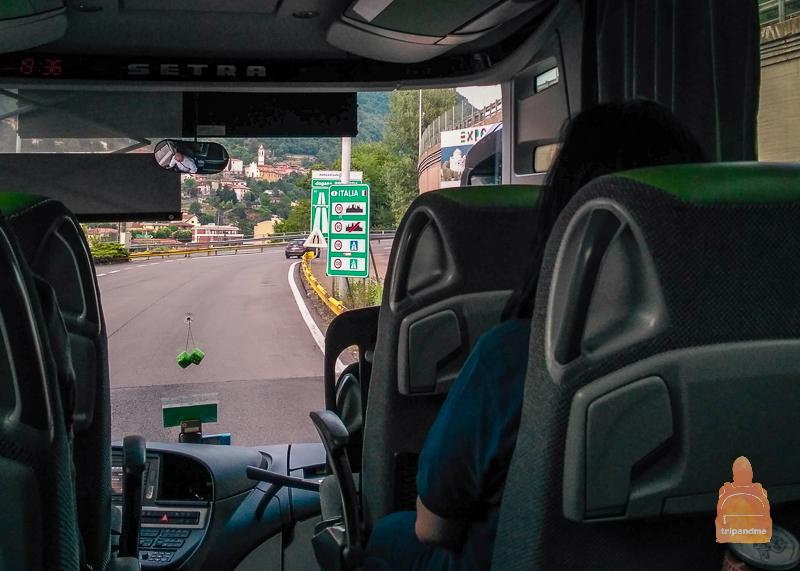 На автобусе по Италии