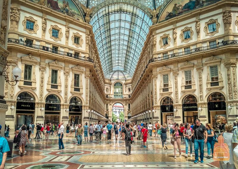 Знаменитая галерея Италии