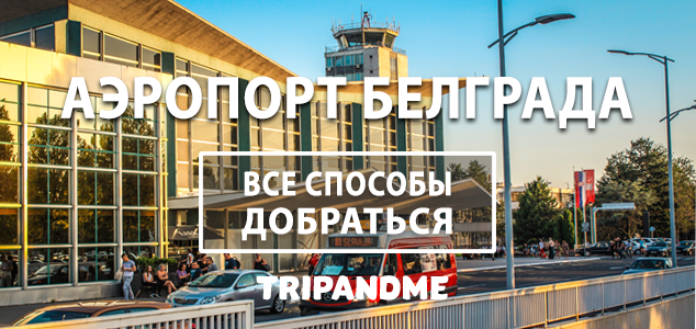 Все способы добраться из аэропорта Белграда в город