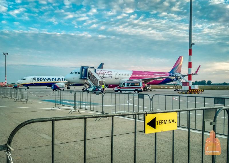 Аэропорт в Милане
