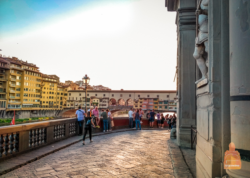 Знаменитый мост во Флоренции