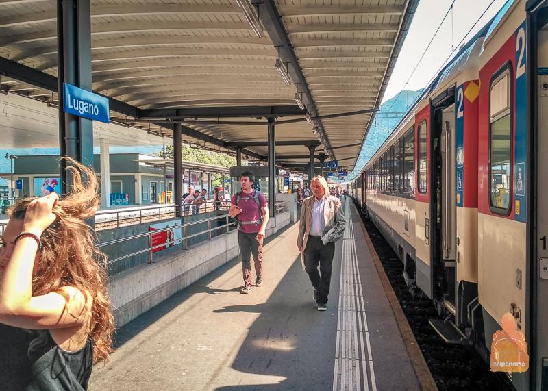 Жд вокзал в Лугано
