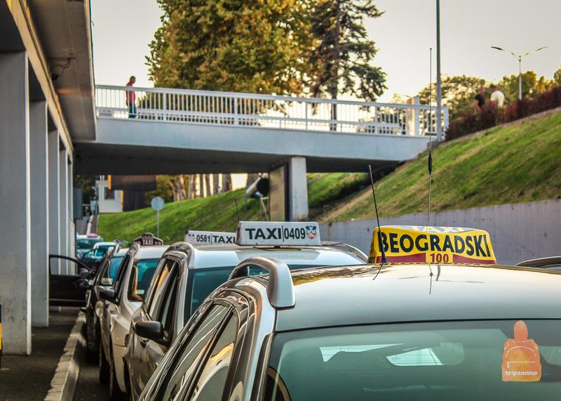 Такси из аэропорта Белград