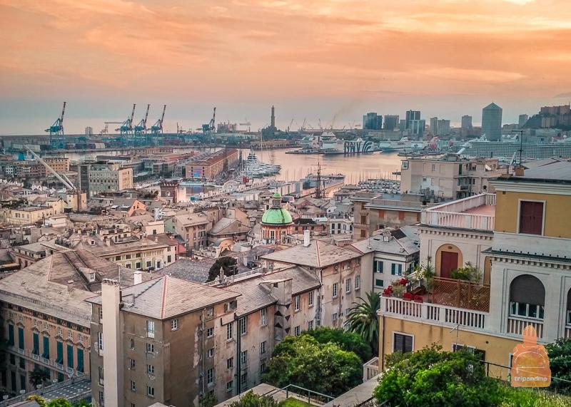 Генуя - город у моря
