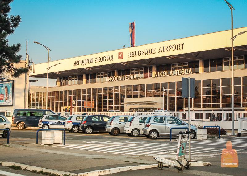 Аэропорт Белграда не очень большой