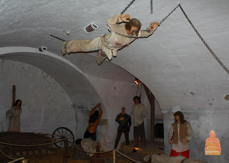 Зал пыток в крепости